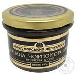 Рапана Завод морских деликатесов Черноморская копченая в масле 190г
