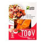 Tofu Zelena korova with tomatoes soft 250g vacuum packing
