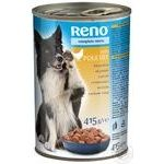 Reno for dogs canned with poultry food 415g