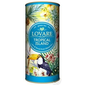 Lovare Tropical Island green tea 80g - buy, prices for Novus - image 1