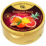 Леденцы Cavendish & Harvey Тропические фрукты карамельные 200г