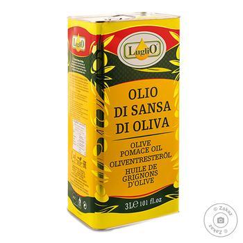 Олія оливкова помас.рафінована Luglio з/б 3л - купить, цены на Novus - фото 1