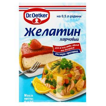 Желатин Dr. Oetker пищевой 9г - купить, цены на Восторг - фото 1