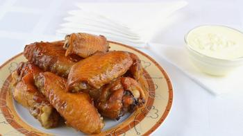 Куриные крылья в соевом соусе