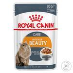 Корм Royal Canin Care Intense Beauty в соусі для котів з чутливою шкірою та проблемною шерстю 85г