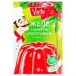 Желе Varto с ароматом клубники 90г