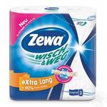 Бумажные полотенца Zewa Wisch&Weg Extra Lang 86 листов 2 слоя 2шт