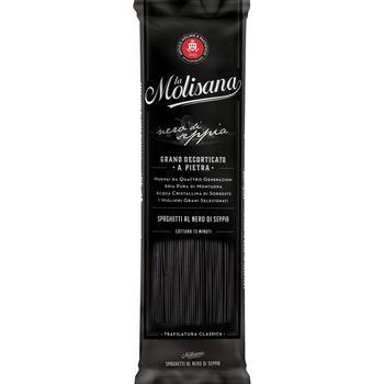 Макароны La Molisana Спагетти с чернилами каракатицы 500г