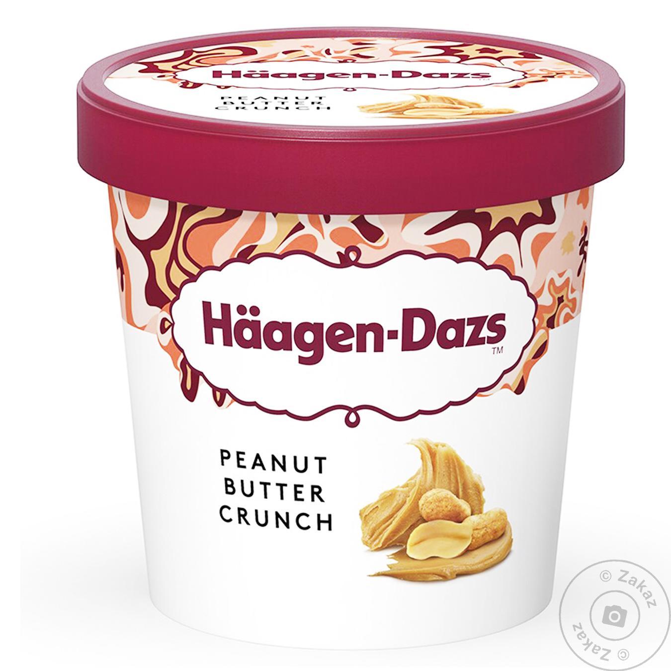 Мороженое Haagen-Dazs арахисовое масло кранч 80мл