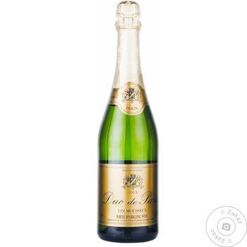 Вино ігристе Дюк де Парі 0,75 л 10,5% н/сух. (Франція)