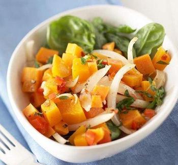 Тыквенно-картофельный салат