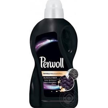Средство для стирки Perwoll 3D восстановление для темного и черного 1,8л