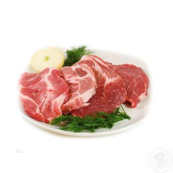 Свиной стейк из ошейка СУ кг