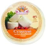 Продукт молоковмісний Поліська сироварня сулугуні міні 40%