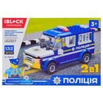 Iblock Toy Construction Police PL-920-21