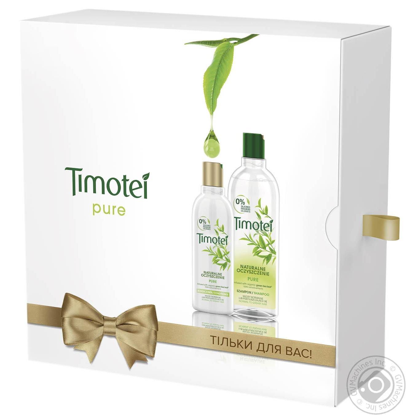 Набір подарунковий Timotei М який догляд → Гігієна → Подарунковий ... e1f1dff2af2d8