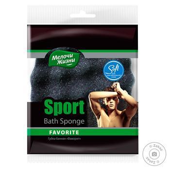 Melochi Zhyzni Sponge Favorite Sport bath - buy, prices for Furshet - image 1
