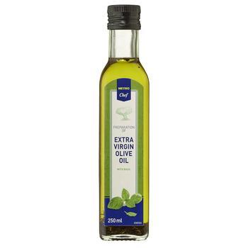 Масло оливковое Metro Chef Extra Virgin с базиликом 250мл