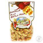 Макароны Tarall`oro Farfalle красная свекла 250 г