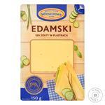 Сыр Wloszczowa Edamski нарезка 45% 150г