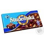 ORION® Studentská milk chocolate with peanuts, jelly and raisins 180g