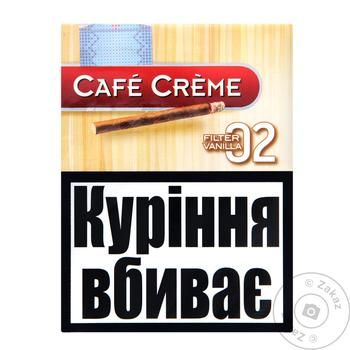 Cafe Creme Filtre Vanilla Cigars 8pc - buy, prices for Auchan - photo 1