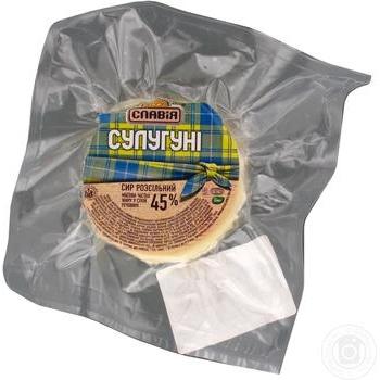 Сыр Славія Сулугуни 45% кг