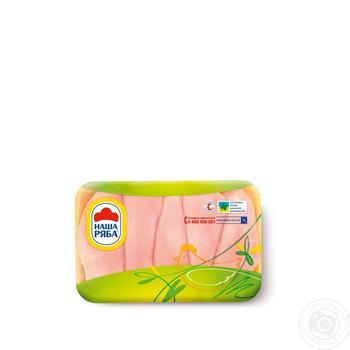 Филе Наша Ряба HALAL цыпленка-бройлера охлажденное (упаковка СЭС)