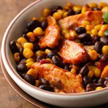Запеченная курица по‑мексикански