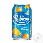 Напій Rubicon 0,33 л ж/б газ. зі смаком Манго (Великобританія)