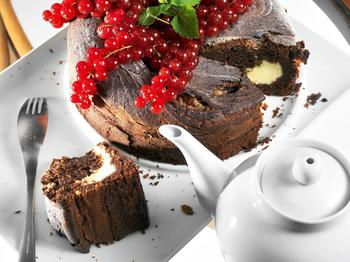 Шоколадний пиріг із маскарпоне