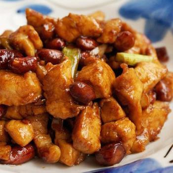 Куриное филе с арахисом