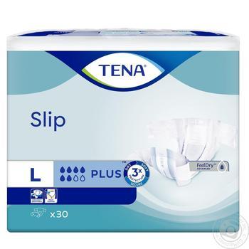 Подгузники Tena Slip Plus Large для взрослых 30шт