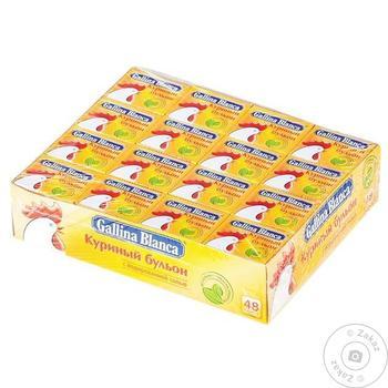 Gallina Blanca Chicken Broth 10g - buy, prices for Novus - image 3