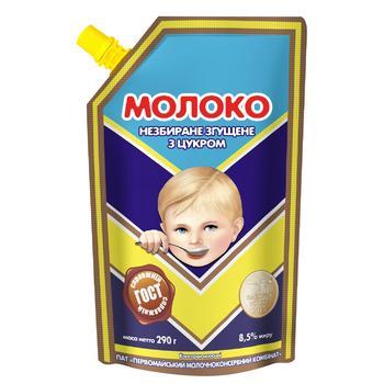 Молоко згущене ПМКК незбиране з цукром 8,5% 290г ДСТУ