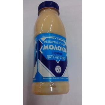Молоко сгущенное Гранд-Молокопродукт цельное с сахаром 8.5% 380г пластиковая бутылка Украина