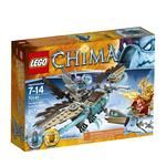 Construction toy Lego Chima Vardy's Ice Vulture Glider for 7 to 14 years children 217 pieces