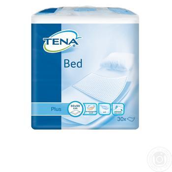 Пеленки Tena Bed Plus впитывающие 60x90 30шт