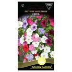 Насіння Golden Garden Квіти Петунія ампельна суміш 0,2г