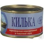 Консервы IRF Килька неразделанная в томатном соусе 230г