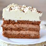 Шоколадный торт с кофе