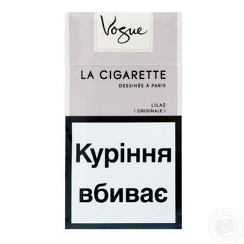 Сигареты Vogue Lilas - купить, цены на Фуршет - фото 1