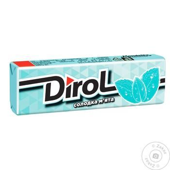Dirol Sweet Mint Chewing Gum 14g - buy, prices for Tavria V - image 1