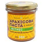 Паста арахісова Master Bob Фітнес з медом 300г