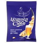 Snack peanuts Kozatska slava salt for beer 200g Ukraine