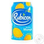 Rubicon with mango carbonated beverage 330ml