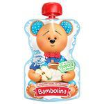 Пюре Bambolina Яблоко-сыр-сливки для детей от 6 мес 90г