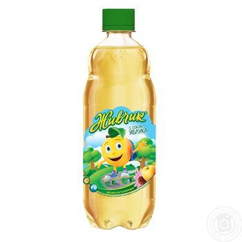 Напиток газированный Оболонь Живчик с соком яблока 0,5л - купить, цены на Novus - фото 1