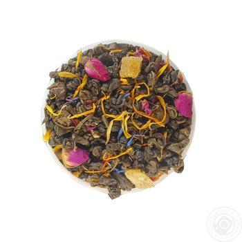Композиція зеленого чаю Чайні шедеври Ніч Клеопатри - купити, ціни на Ашан - фото 1
