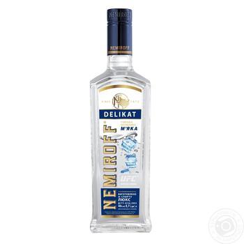 Nemiroff Delikat Soft Special Vodka 40% 0,7l - buy, prices for CityMarket - photo 2